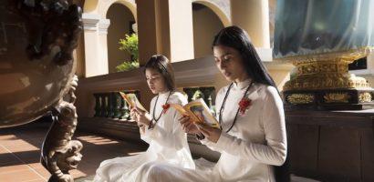 Trương Thị May tham gia nhiều hoạt động Phật giáo dịp Vu Lan 2020