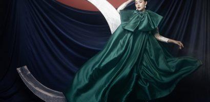 Á hậu Tường San hóa 'chị Hằng', say đắm với hình ảnh đậm chất liêu trai