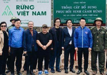 Hà Anh Tuấn thực hiện dự án 'Rừng Việt Nam'