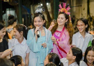 Thanh Thúy mừng Trung thu với trẻ em nghèo