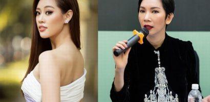 Hoa hậu Khánh Vân làm 'nàng thơ' trong show thời trang của Xuân Lan