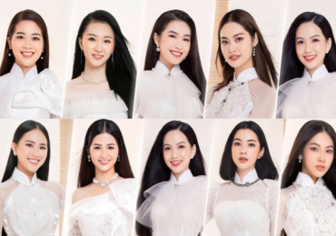 Top 60 'Hoa hậu Việt Nam 2020' khoe sắc với áo dài