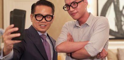 Nhà thiết kế Thái Công hội ngộ hotboy rapper Hiếu Thứ Hai