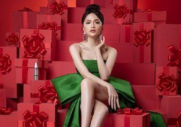Hoa hậu Hương Giang làm đại sứ thương hiệu Solidus Factory Korea