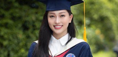 Á hậu Phương Nga tốt nghiệp đại học với thành tích 'khủng'