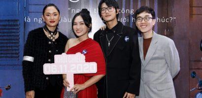 Bảo Anh, Diệu Nhi và dàn sao Việt háo hức xem 'Sài Gòn trong cơm mưa'