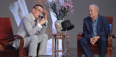 Nghệ sĩ Mạc Can tái xuất, khiến MC Lại Văn Sâm 'toát mồ hôi' nhận làm 'sư phụ'