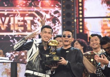 Dế Choắt giành chiến thắng chung cuộc ở 'Rap Việt'