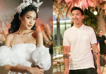 Đoàn Văn Hậu ủng hộ 'người tình tin đồn' Doãn Hải My diễn thời trang