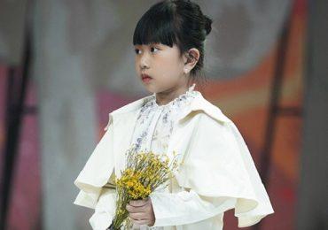 'Mẫu nhí' Trương Ngọc Diệp tự tin trình diễn tại 'Vietnam Junior Fashion Week'