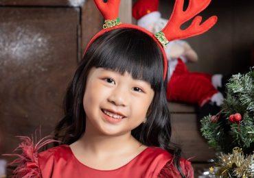 'Mẫu nhí 6 tuổi' Trương Ngọc Diệp tự tin khoe dáng