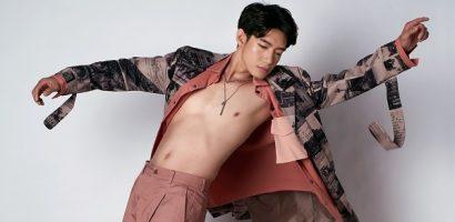 Quang Đăng điển trai, khoe body hờ hững trong bộ ảnh mới