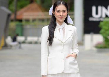 Diệp Bảo Ngọc khoe phong cách menswear kết hợp váy xòe