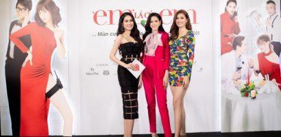 Top 3 Hoa Hậu Việt Nam 2020 'đọ' sắc tại sự kiện ra mắt phim