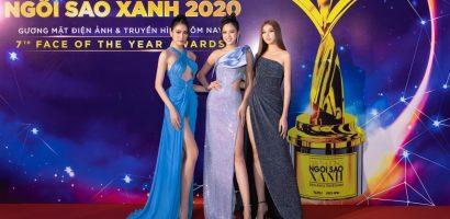 Tiểu Vy, Lương Thuỳ Linh, Đỗ Hà đọ sắc trên thảm đỏ Ngôi Sao Xanh 2020