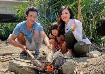 Vân Trang đưa gia đình nghèo sống tạm bợ bên sông Sài Gòn đi du xuân đầu năm