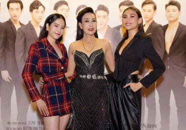 Võ Hoàng Yến và Nam Em rạng rỡ sánh đôi, chúc mừng 'người đẹp LGBT' Hà Kiều Anh ra mắt phim