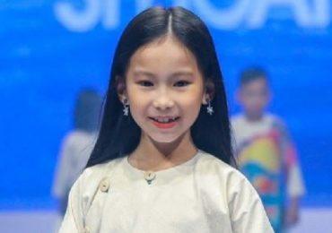 Mẫu nhí 9 tuổi siêu đáng yêu đốn tim khán giả International Fashion Runway