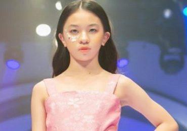 Thần thái chuyên nghiệp của mẫu nhí 12 gây bất ngờ tại International Fashion Runway 2021