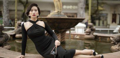 Diễn viên Bella Mai ưa chuộng phong cách thanh lịch