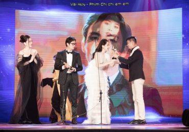 Chi Pu nhận giải thưởng 'Nữ diễn viên được yêu thích nhất'