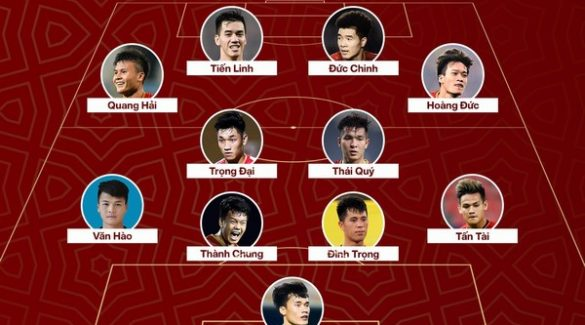 Đội hình 11 ngôi sao tuổi Sửu của bóng đá Việt Nam