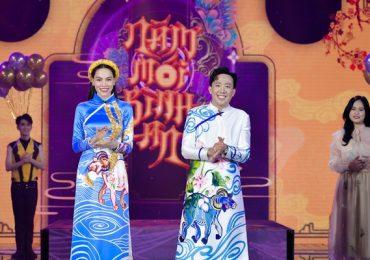 Hồ Ngọc Hà hát nhạc xuân mới, tiếp tục sánh đôi bên Trấn Thành làm MC