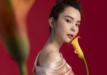 Hoa hậu Huỳnh Vy cuốn hút kiểu váy xếp tầng, đơn sắc