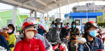 Phà biển Cần Giờ – Vũng Tàu đông khách ngày Tết