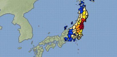 Động đất 7,1 độ ở Nhật, gần một triệu hộ dân mất điện