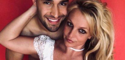 Britney Spears ủng hộ bạn trai đóng phim