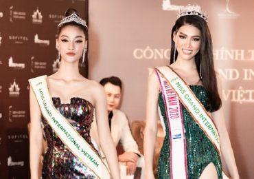 Á hậu Ngọc Thảo chính thức được trao 'sash' tham dự Miss Grand International 2020