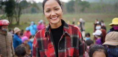 Hoa hậu H'Hen Niê đồng hành cùng quỹ cộng đồng phòng tránh thiên tai