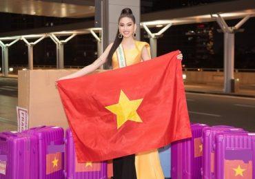 Á hậu Ngọc Thảo chính thức 'đem chuông đi đánh xứ người' tại Miss Grand International 2020