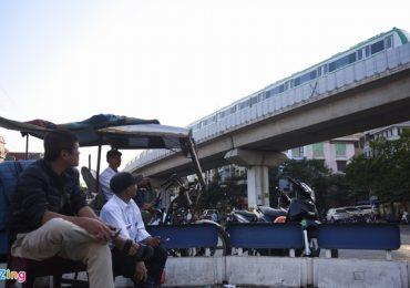 Tuyến đường sắt Cát Linh chỉ chạy khi cây xăng ở ga La Khê đóng cửa?
