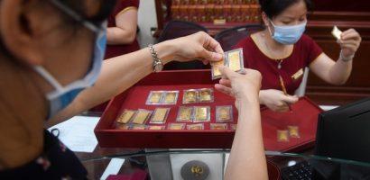 Giá vàng quay đầu giảm sâu