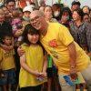 Gặp gỡ fan nhí siêu dễ thương của Color Man tại 'Quà tặng bất ngờ'