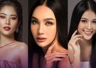 Những thí sinh đầu tiên cuộc thi ảnh online Hoa hậu Hoàn vũ 2021