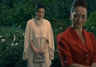 Cảnh đánh ghen văn minh của Lê Khánh và NSND Lê Khanh trong 'Gái già lắm chiêu V'