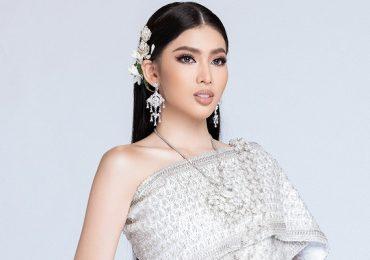 Á hậu Ngọc Thảo duyên dáng với trang phục truyền thống Thái Lan