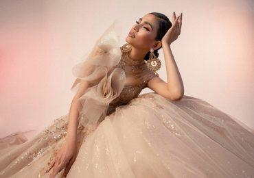 Á hậu Trương Thị May hóa cô dâu lộng lẫy