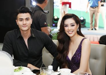 Siêu mẫu Vĩnh Thụy sánh bước cùng Hoa hậu Trần Khánh Vân tặng trang sức làm từ thiện