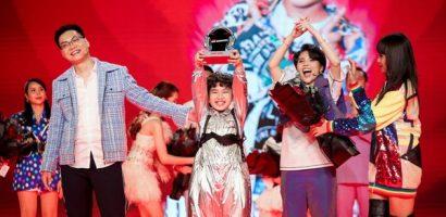 Học trò Vũ Cát Tường – Hưng Cao đăng quang quán quân Giọng hát Việt nhí 2021
