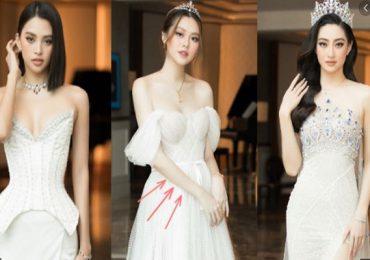 Dàn Hoa Á hậu 'đọ visual' tại họp báo khởi động Miss World Vietnam 2021