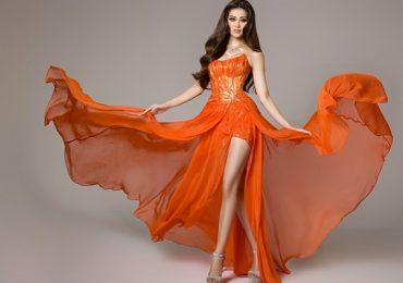 Cận cảnh trang phục dạ hội của Hoa hậu Khánh Vân tại bán kết Miss Universe 2020