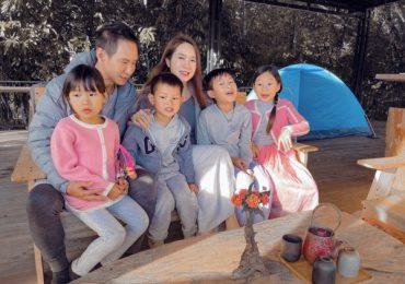 Lý Hải – Minh Hà tổ chức sinh nhật giản dị cho con trai út tại Đà Lạt