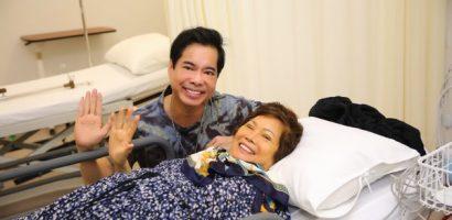 Ca sĩ Ngọc Sơn nặng lòng vì mẹ đột ngột qua đời