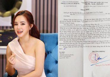 Vy Oanh thẳng tay, nộp đơn tố cáo bà Nguyễn Phương Hằng
