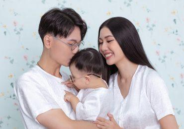 Bộ ảnh sinh nhật đáng yêu của con trai Á hậu Thuý Vân