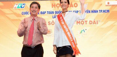 Hoa hậu H'Hen Niê trở thành đại sứ đầu tiên của cuộc thi đua xe đạp tranh cúp truyền hình
